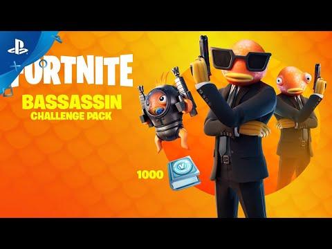 Fortnite - Bassassin Challenge Pack Trailer | PS4