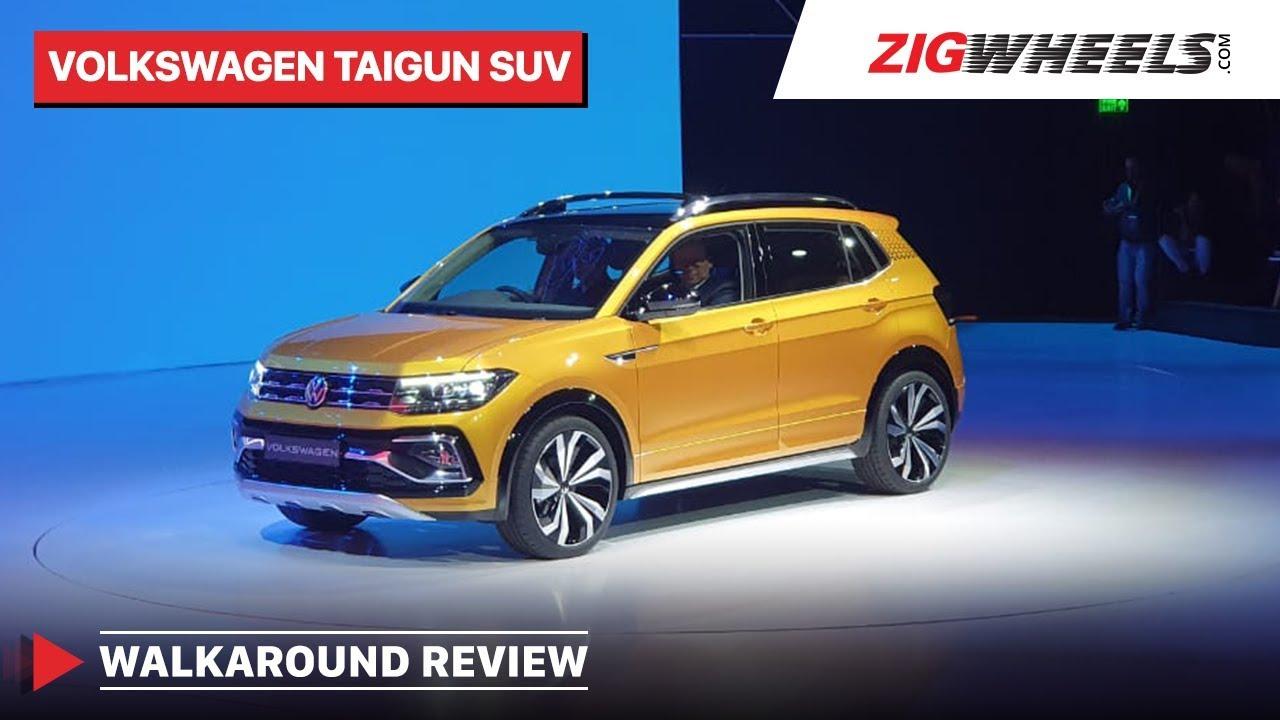 Volkswagen Taigun SUV | Walkaround Review | Looks, Interior And Features | Zigwheels.com