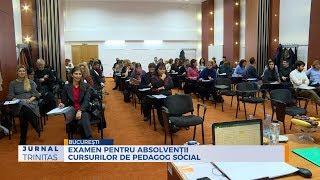 Examen pentru absolventii cursurilor de pedagog social