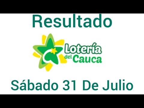 Resultado LOTERIA DEL CAUCA Del Sábado 31 De Julio del 2021