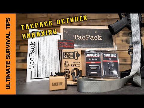 NEW! Tactical / Survival Gear - October Delivery! Let's See the New TacPack Box....