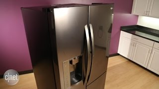 This LG fridge has a door in the door, but what is it good for?