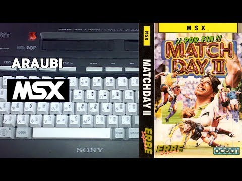 Match Day II (Ocean, 1987) MSX [006-II] 2P con Cabu Walkthrough Comentado