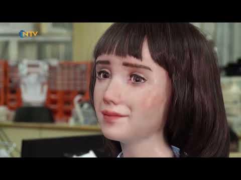 NTV | Covid-19 hastaları için insansı robot: Hemşire Grace