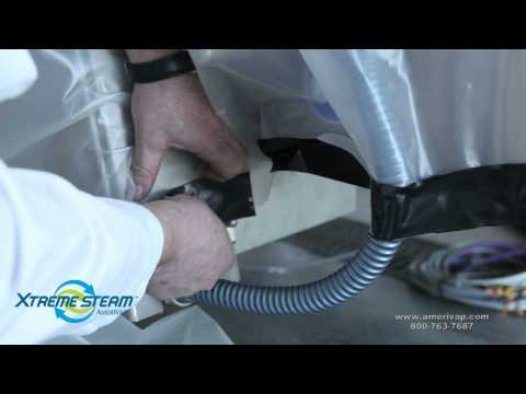 Industrial Slicer Cleaning and Sanitizing with Dry Steam