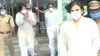 EXCLUSIVE : Power Star Pawan Kalyan Dynamic Walk at Gannavaram Airport   Tollywood - TFPC