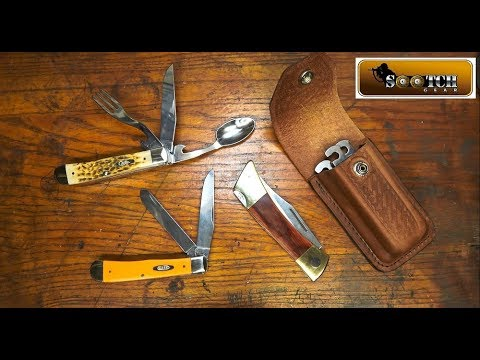 Case Knives Hobo, Trapper and XX Changer Review
