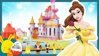 La Belle et la bête - Le chateau Princesse Disney - Jouet Polly Pocket - Histoire - Touni Toys