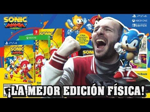 connectYoutube - ¡SEGA HACE EL FORMATO FÍSICO PERFECTO! - ¡VERDADERA LECCIÓN A TODOS! - Sasel - Sonic Mania plus