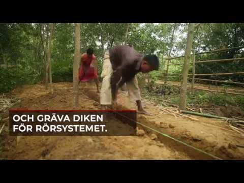 Att bygga ett sjukhus i  Bangladesh
