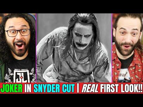 Joker Snyder Cut   JARED LETO FIRST LOOK   REACTION!! (Full Scene Breakdown   Justice League)