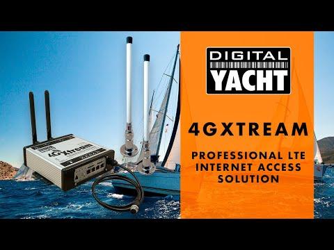 4GXTREAM - Professional LTE Internet Access solution - Digital Yacht