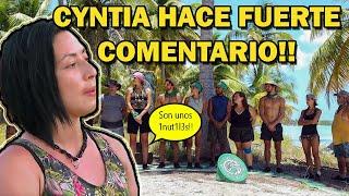 Cyntia hace fuerte comentario sobre Halcones - Survivor México