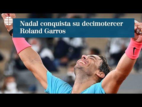 Rafa Nadal conquista su decimotercer Roland Garros