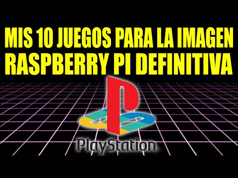10 JUEGOS PLAYSTATION 1 || IMAGEN RASPBERRY PI CON ROMS PS1 PSX