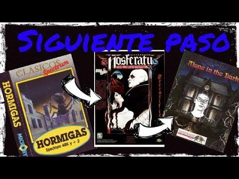 Siguiente Paso: Hormigas (Quicksilva) - Nosferatu (Piranha)  - Alone In The Dark (Infrogames)