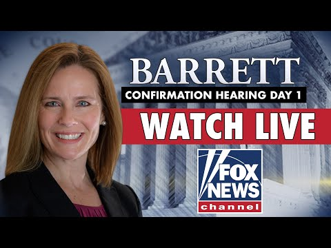 Live: Amy Coney Barrett's Supreme Court confirmation hearings   Day 1