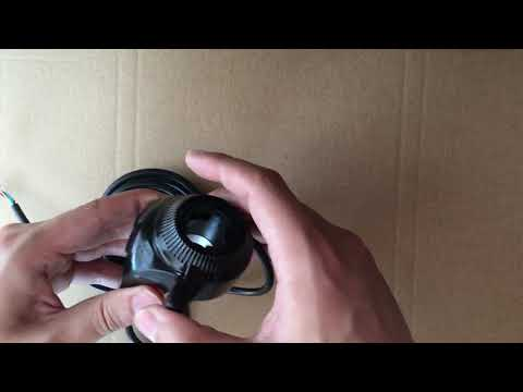 (L-faster) Electric bike throttle disassemble and assemble video