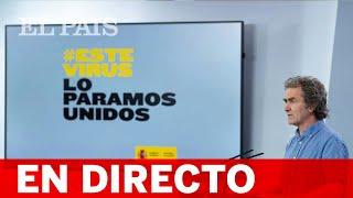 DIRECTO #CORONAVIRUS | Fernando SIMÓN comunica los últimos datos