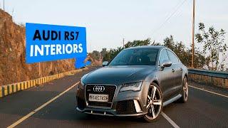 Audi RS 7 Sportback Interior : PowerDrift