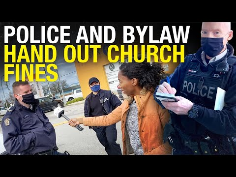 B.C. church FINED ,300 for in-person services, police CAN'T EXPLAIN which order was violated
