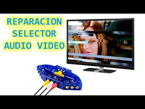 REPARACION SELECTOR DE AUDIO VIDEO 4 IN 1 OUT