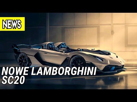Nowe Lamborghini SC20, niesamowity Jaguar Vision GT SV, Pagani Huayra Tricolore  - #552 NaPoboczu