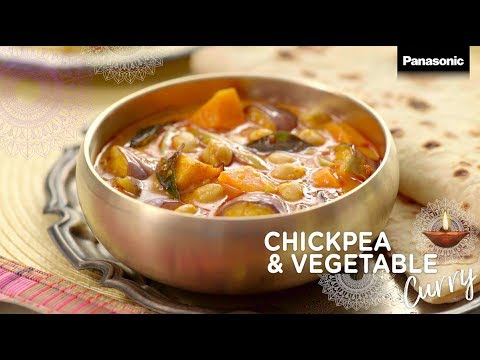 Panasonic Slow Cooker Recipe: Chick Peas and Vegetable Curry