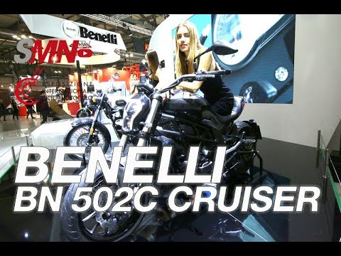 Benelli BN 502C Cruiser 2019 - EICMA 2018 [FULLHD]