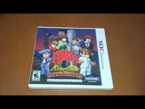 Unboxing de River City Tokyo Rumble  (Natsume) 3DS