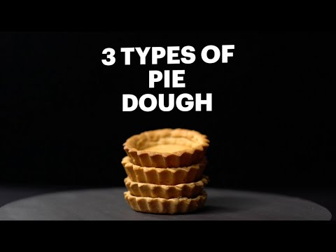How to Make 3 Types of Pie Dough, According to a Pro Pastry Chef