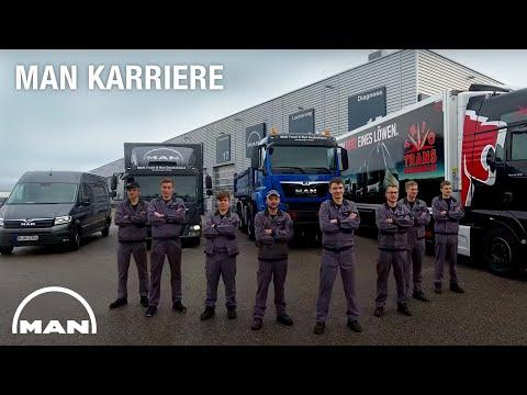 MAN Karriere - Ausbildungsberuf Kfz-Mechatroniker
