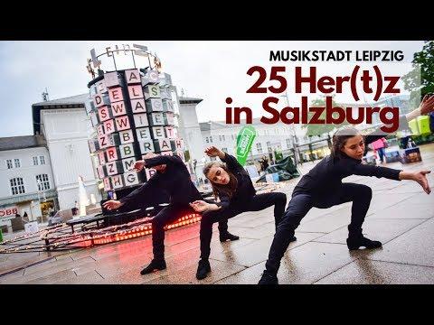 """""""25 Hertz"""" in Salzburg - Licht-Klang-Installation der Musikstadt Leipzig"""