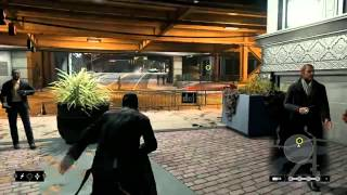 Watch Dogs 7 Minute Walkthrough PS4 Gameplay