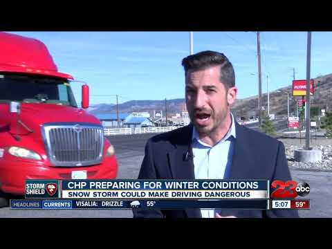 connectYoutube - CHP recommends Grapevine drivers prepare for snow