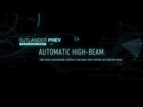 Automatisk avbländning av helljus - Outlander Plug-in Hybrid