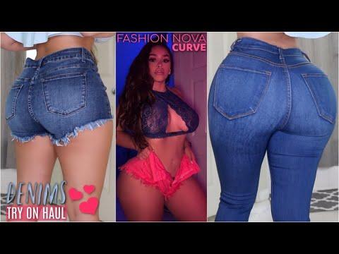 DENIM STYLES FOR THICK GIRLS feat. Fashion Nova Curve | MISSSPERU