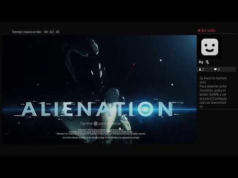 Pruebas directo (Alienation) PS4
