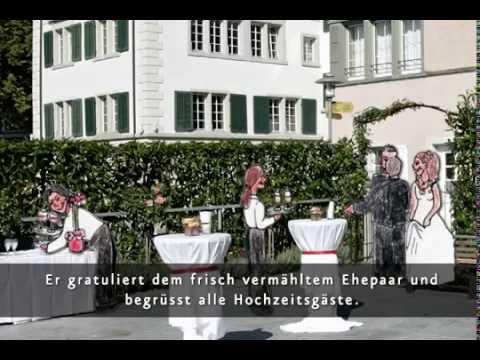 Beispiel: Romantica & Historico ♥ Hochzeitsapéro auf der Seewiese, Video: Sonne Romantik Seehotel.
