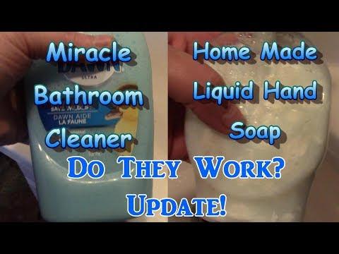 Miracle Bathroom Cleaner & Liquid Hand Soap Update