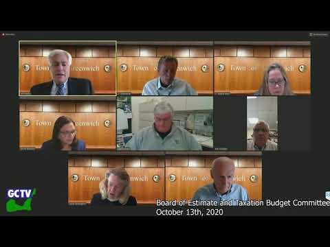 BET Budget Committee, October 13, 2020