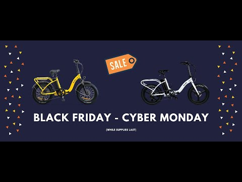 Ride Scoozy 2020 Black Friday Through Cyber Monday Sale