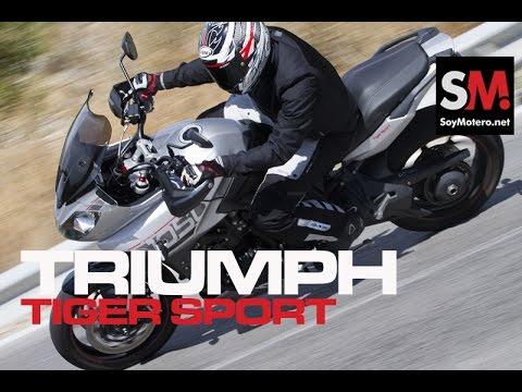 Prueba Maxi Trail: Triumph Tiger Sport 2016