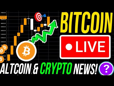 LIVE BITCOIN BREAKOUT & CRYPTO NEWS!! 🚨 THESE ALTCOINS LOOK SPICY!! BUY MORE SOLANA OR ELROND?!