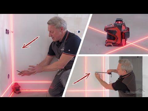 Как упростить, ускорить и улучшить ремонт квартиры с помощью лазерного уровня? Показываю на практике photo
