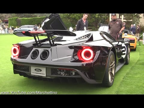 2017 Ford GT Exhaust Sound – Start up  Revs