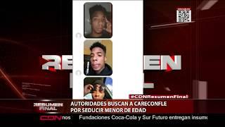 Autoridades buscan a Careconfle por seducir a menor de edad
