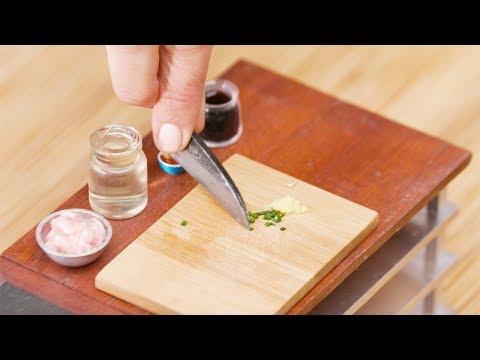 The Tiniest Wonton Soup EVER | Tiny Kitchen