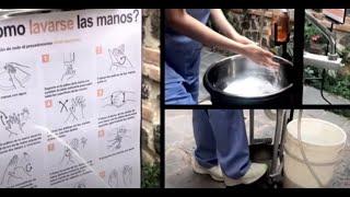 Universitarios ganaron premio de PNUD por este captador de agua y lavamanos