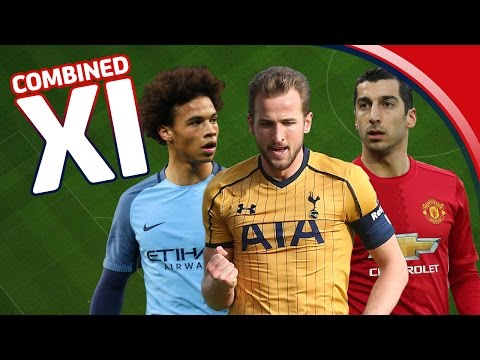 Sane, Mkhitaryan & Kane - Team of the 5th Round - Emirates FA Cup (2016/17)   Combined XI